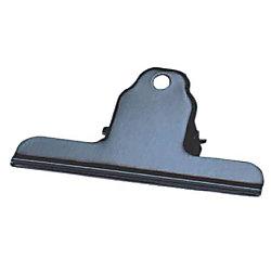 Briefklemmer/771-11, schwarz, Metall, 100mm