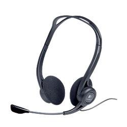 Stereo Headset USB PC 960 Schwarz