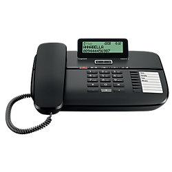Telefon DA810A Schwarz