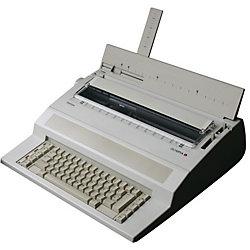 Schreibmaschine Startype 48,8 x 40,8 x 20 cm Hellgrau