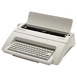 Schreibmaschine Carrera de luxe 41,2 x 11,7 x 37,5 cm Weiß
