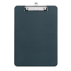 Schreibplatte Kunststoff für DIN A4/2340590, schwarz, 226x318x15mm