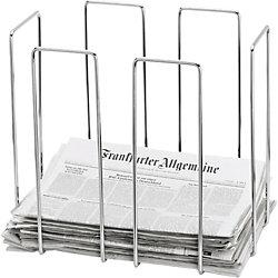 Zeitungssammler/ 68477, Draht, B 465 x H 400 x T 330 mm