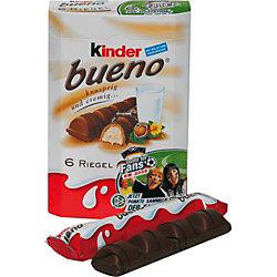 Kinder Bueno 2978185, Riegel, Inh. 6 Stück