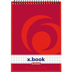 Spiralnotizblock/00110635, kariert, DIN A6, Inh. 50 Blatt