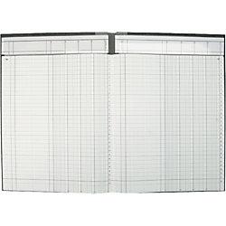 K+E Spaltenbücher /8611042-7104P96KL, hellblau, 4 Spalten, DIN A4, Inh.96 Blatt