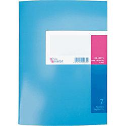 K+E Spaltenbücher /8611071-7107K40KL, blau, 7 Spalten, DIN A4, Inh.40 Blatt