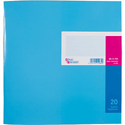 K+E Spaltenbücher /8611701-7120K40KL, blau, 20 Spalten,277 x 257 mm, Inh.40 Blatt