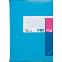 K+E Spaltenbücher /8612031-7103K40, blau, 3 Spalten, DIN A4, Inh.40 Blatt