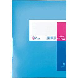 K+E Spaltenbücher 8612041-7104K40, blau, 4 Spalten, DIN A4, Inh.40 Blatt