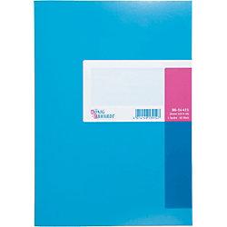 K+E Spaltenbücher 8614411-610K40, blau, 1 Spalte, DINA 4, 40 Blatt