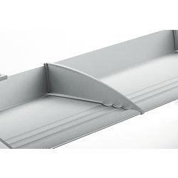 Schreibtischbefreier BoardMaster 7955002000, lichtgrau, Inh. 2 Stück