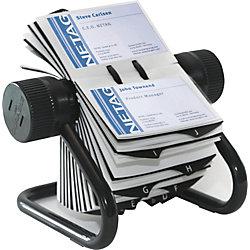 Rollkartei Visifix 2481-01, schwarz, B215xH120xT185mm