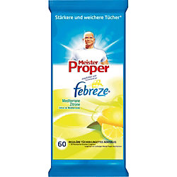 Mr. Proper Reinigungstücher Citrus/4015600368890 Inhalt 60 Stück