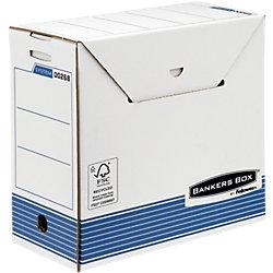 R-Kive PRIMA Archivbox für Hängemappen /0026801, 159 x 320 x 310 mm, blau/weiß