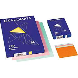 Karteikarten, blanko / 13309E, weiß, A6, Inh. 100 Stück