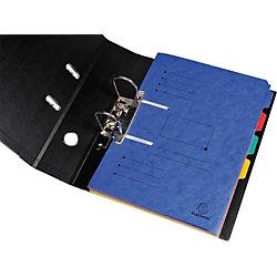 Sammelmappe zum Abheften/447002E, blau, Manila-Karton