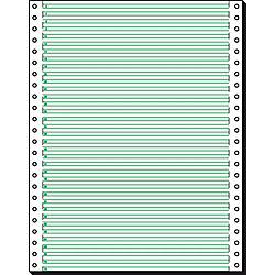 Computer-Endlospapier 12247 DIN A4 60 g/m² Vertikal gelocht Weiß 2.000 Blatt