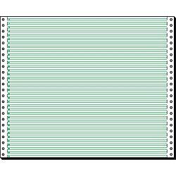 Computer-Endlospapier 12370 DIN A3 quer 60 g/m² Vertikal gelocht Weiß 2.000 Blatt