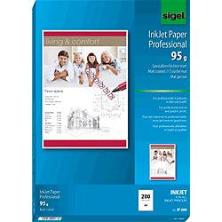Inkjet Fotopapier IP288 DIN A4 95 g/m² Weiß 200 Blatt