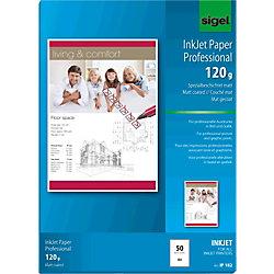 Inkjet Fotopapier IP182 DIN A4 120 g/m² Weiß 50 Blatt