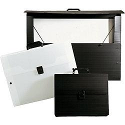 Zeichenkoffer, 370304, schwarz, DIN A2