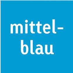 Strohseide 204719534 25 g/m² Mittelblau