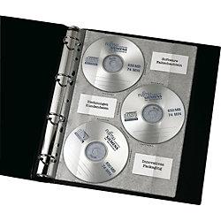 CD/DVD-Prospekthüllen/4359 000, A4, transparent, 3 CD/DVD Inhalt 10 Stück