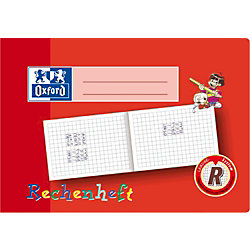 Zahlen- und Rechenheft/312501600, A5 quer, Lineatur R
