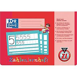 Zahlen- und Rechenheft/384401600, A4 quer, Lineatur ZL