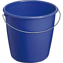 Eimer mit Stahlbügel/ 84153 blau, 5 Liter