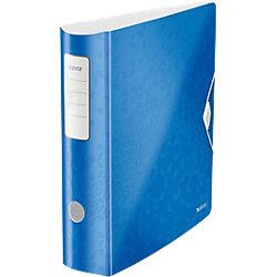 180° Active WOW Ordner DIN A4 Blau Metallic 2 Ringe 82 mm 82 x 318 x 312 mm