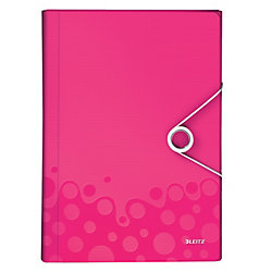 Fächermappe WOW DIN A4 Rosa 100% Polypropylen 6 Fächer 25,4 x 3,8 cm