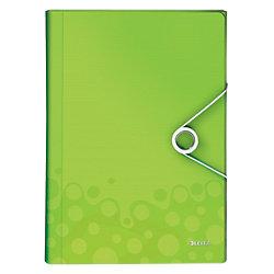 Fächermappe WOW DIN A4 Grün 100% Polypropylen 6 Fächer 25,4 x 3,8 cm