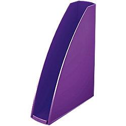 Stehsammler WOW Polystyrol Violett Metallic 7,5 x 25,8 x 31,2 cm