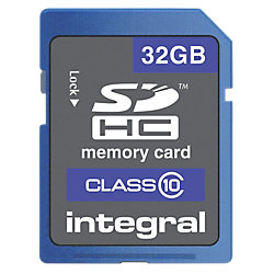 Speicherkarte SDHC™ Class 10 32 GB