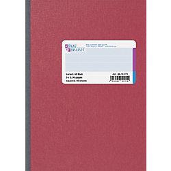 Geschäftsbuch DIN A5 Karriert Rot
