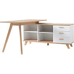 Schreibtisch Oslo Weiß
