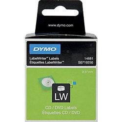 CD-/DVD-Etiketten S0719250 Weiß 160 Stück