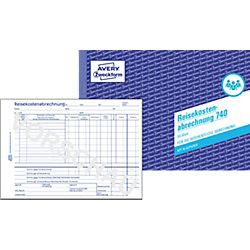 Reisekostenabrechnung 740 DIN A5 quer 2-fach 50 Blatt