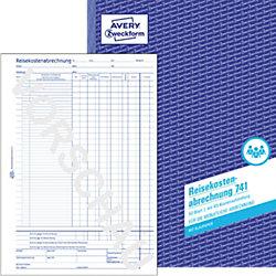 Reisekostenabrechnung 741 DIN A4 4-fach 50 Blatt
