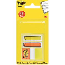 Index Haftstreifen & Pfeile Pfeile Gelb, Orange 56 Streifen
