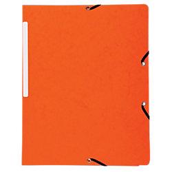 Eckspannmappe 5564E DIN A4 Orange Manila Karton 5 Stück
