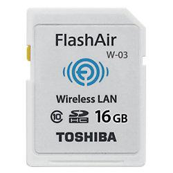 Toshiba Speicherkarte FlashAir 16 GB