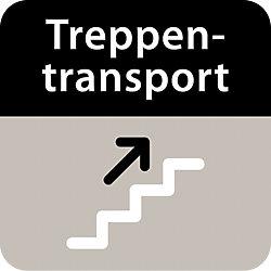 Aufpreis für Treppentransporte Treppentransporte