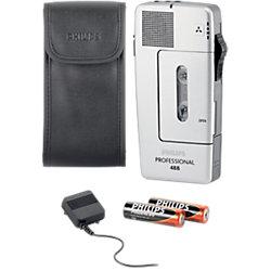 Analoges Diktiergerät Pocket Memo LFH 488 Grau