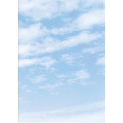 Design-Papier Wolken DIN A4 90 g/m² Weiß, Hellblau 100 Blatt
