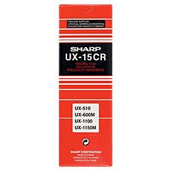 Druckfolie UX-15CR Schwarz 2