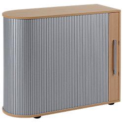 Rollladen-Sideboard Speed Office Ahorn-Nachbildung 200 x 40 x 80 cm