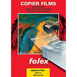 Folien für Normalpapier-Kopierer XA-F DIN A4 Transparent 100 Blatt